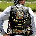 Fla Post 4143 Vfw Rider Color Usa by Sally Rockefeller