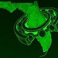 Fla Sprocket Green by Rob Hans