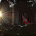 Flag And Stone by Brian Archer