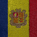 Flag Of Andorra by Jeff Iverson