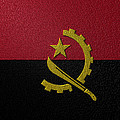Flag Of Angola by Jeff Iverson