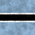 Flag Of Botswana by World Art Prints And Designs