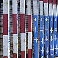 Flag Of Deported Vets by Hugh Smith