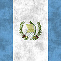 Flag Of Guatamala by World Art Prints And Designs