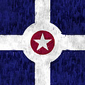 Flag Of Indianapolis by World Art Prints And Designs