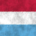 Flag Of Luxembourg by World Art Prints And Designs