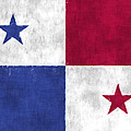 Flag Of Panama by World Art Prints And Designs