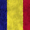 Flag Of Romania by World Art Prints And Designs