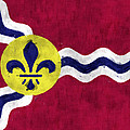 Flag Of St.louis by World Art Prints And Designs