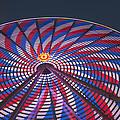 Flag Wheel by Darleen Stry