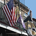 Flags On Bourbon Street by Donna G Smith