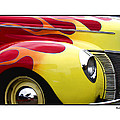 Flamed Ford by Ron Roberts