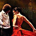 Flamenco Dancer 012 by Catf
