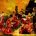 Flamenco Dancer 020 by Catf