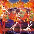 Flamenco Dancer 022 by Catf