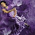 Flamenco Dancer 023 by Catf