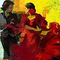 Flamenco Dancer 025 by Catf