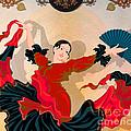 Flamenco Dancer by Peter Awax