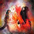Flamencoscape 07 by Miki De Goodaboom