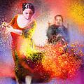 Flamencoscape 11 by Miki De Goodaboom