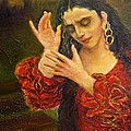 Flamenfo Girl 2 by Sylva Zalmanson
