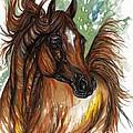 Flaming Horse by Angel Ciesniarska