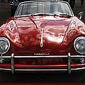 Flaming Red Porsche by Victoria Harrington