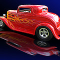 Flaming Roadster by Gill Billington