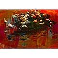 Flamingo Colours by Alice Gipson