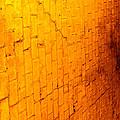 Flamming Brick Wall by Michael Sokalski