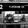 Blues Guitarist Heading To Flatbush  by Doc Braham