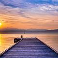 Flathead Lake Sunrise by Adam Mateo Fierro