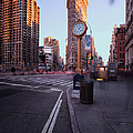 Flatiron Area In Motion by John Farnan
