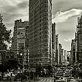 Flatiron Building - Black And White by Jatinkumar Thakkar