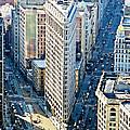 Flatiron Building Nyc by Toula Mavridou-Messer