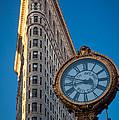 Flatiron Clock by Inge Johnsson