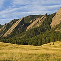 Flatiron Morning Light Boulder Colorado by James BO Insogna