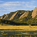 Flatirons From Chautauqua Park by James BO  Insogna