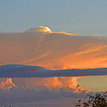 Flattop Sunset Cloud by Joan Hartenstein