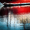 Red Boat Serenity by Karen Wiles
