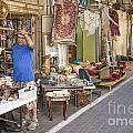 Flea Market Shop In Tel Aviv Israel by Jacek Malipan