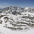 Fletcher Mountain Summit Panorama by Aaron Spong
