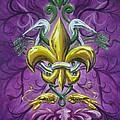 Fleur De Lis 4 by Theon Guillory