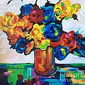 Fleurs De Vigne by Lisa Owen-Lynch