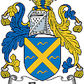 Fleury Coat Of Arms Irish by Heraldry