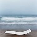 Flexy Batyline Mesh Curve Chaise On Malibu Beach by Simon Watson