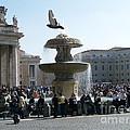 Flight And Fountain by Robin Maria Pedrero
