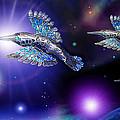 Flight Of The Silver Birds by Hartmut Jager