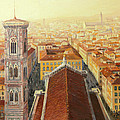Flight Over Florence by Kiril Stanchev