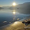 Flip Flops On The Beach by Mats Silvan